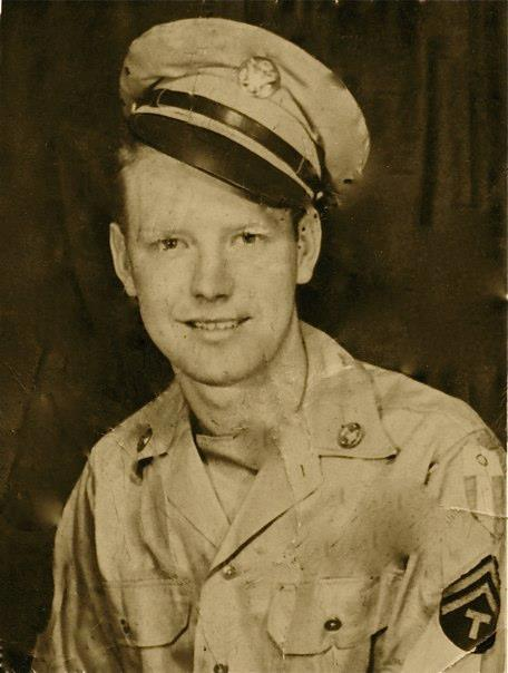 Frank Garrison, Montpelier, Indiana. Served with 124th Cav. MARS, China-Burma-India.