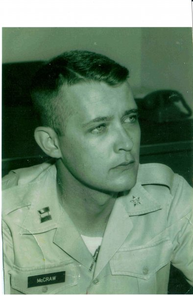 Allen Howard McCraw, High Point, North Carolina. Retired U.S. Army Major, Intelligence Branch. Two Tours in Vietnam. Bronze Star Medal.